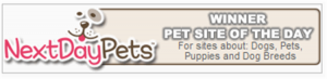 Next Day Pets Site of the DAy